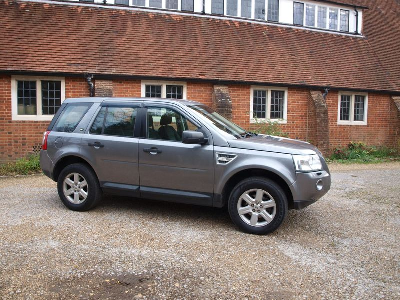 View LAND ROVER FREELANDER TD4 GS